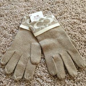 NWT Coach gloves